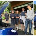 AITC tour the Ecovillage & see a Tesla