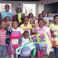 More news on our quilts across the globe ... in Tanzania this time