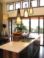 Sustainable house and LED lighting