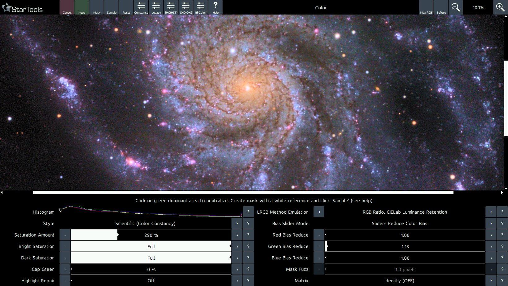 A more vivid M101