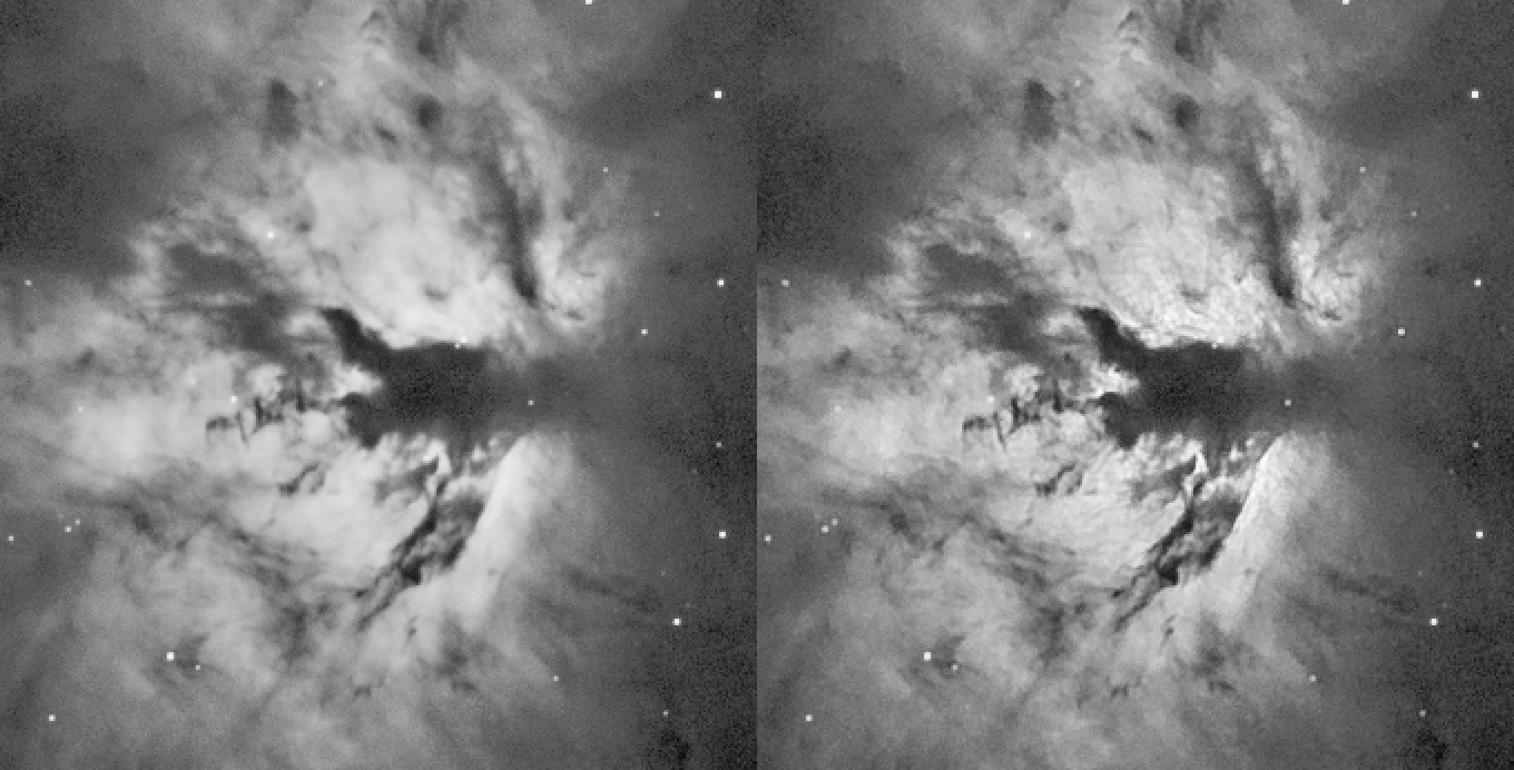 An example of deconvolution in StarTools