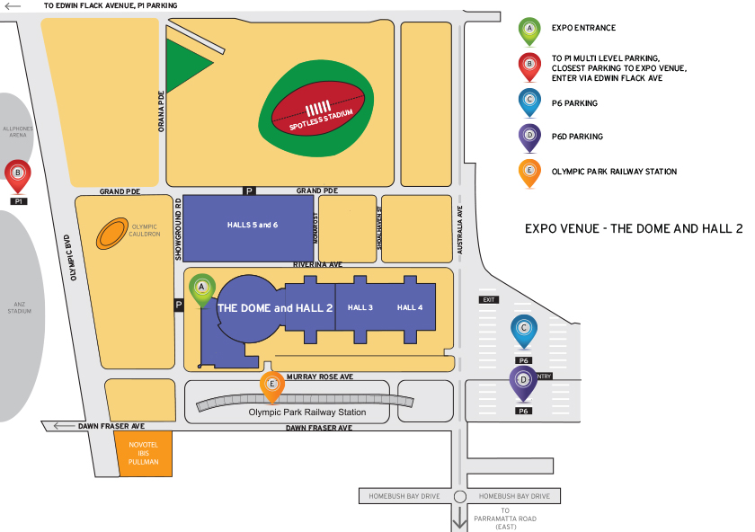 Venue Map Illustration